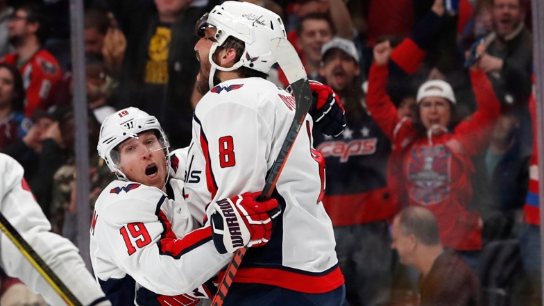 Nicklas Backstrom et Alex Ovechkin