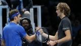 Roger Federer et Alexander Zverev
