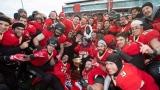 Célébrations du Rouge et Or avec la Coupe Uteck
