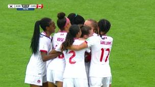 U17 : Corée du Sud 0 - Canada 2