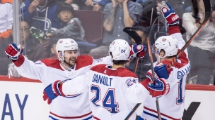 Canadiens 3 - Canucks 2