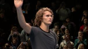 Zverev s'offre le titre aux Finales de l'ATP