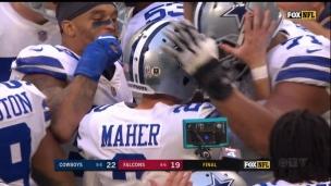 Maher donne la victoire aux Cowboys
