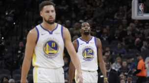 Warriors 92 - Spurs 104