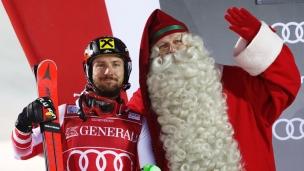 Hirscher s'offre un cadeau en Finlande