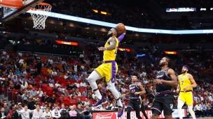 Lakers 113 - Heat 97