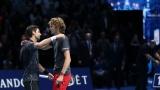 Novak Djokovic et Alexander Zverev