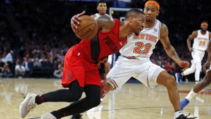 Trail Blazers 118 - Knicks 114