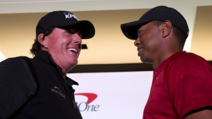 Le duel : Mickelson vs Woods