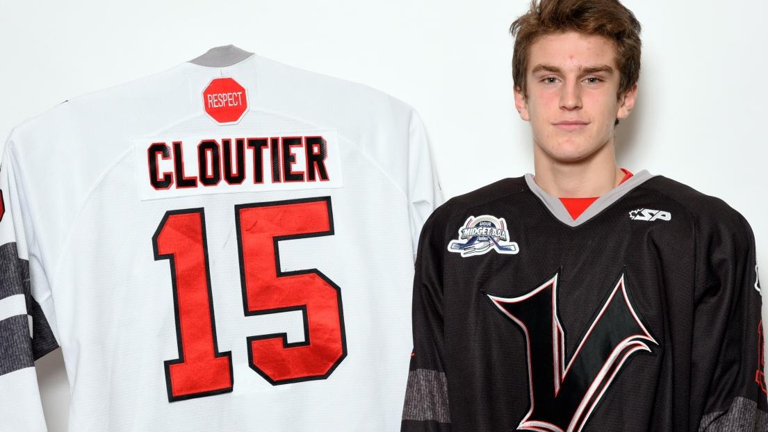 Mathis Cloutier a dirigé l'attaque des Vikings avec 2 buts et 2 aides