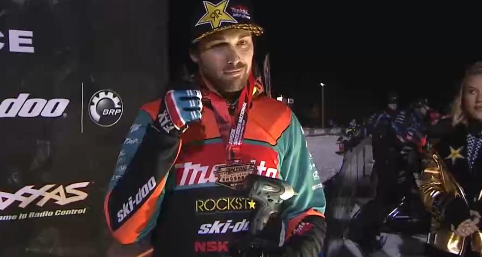 Tim Tremblay semblait bien satisfait de cette première course de la saison