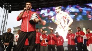Coupe Davis : les champions rentrent en Croatie