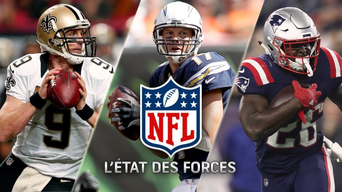État des forces NFL 27 novembre 2018