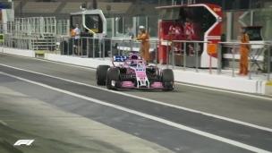 Les premiers tours de Stroll chez Force India