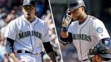 De gauche à droite : Edwin Diaz et Robinson Cano, les nouvelles acquisitions des Mets de New York