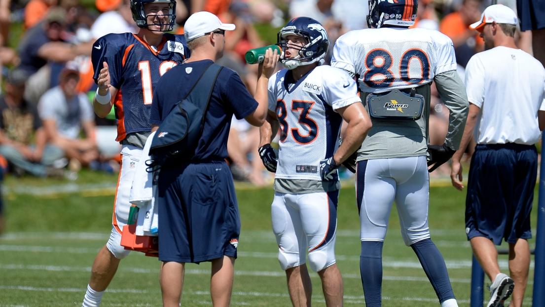 Peyton Manning et Wes Welker