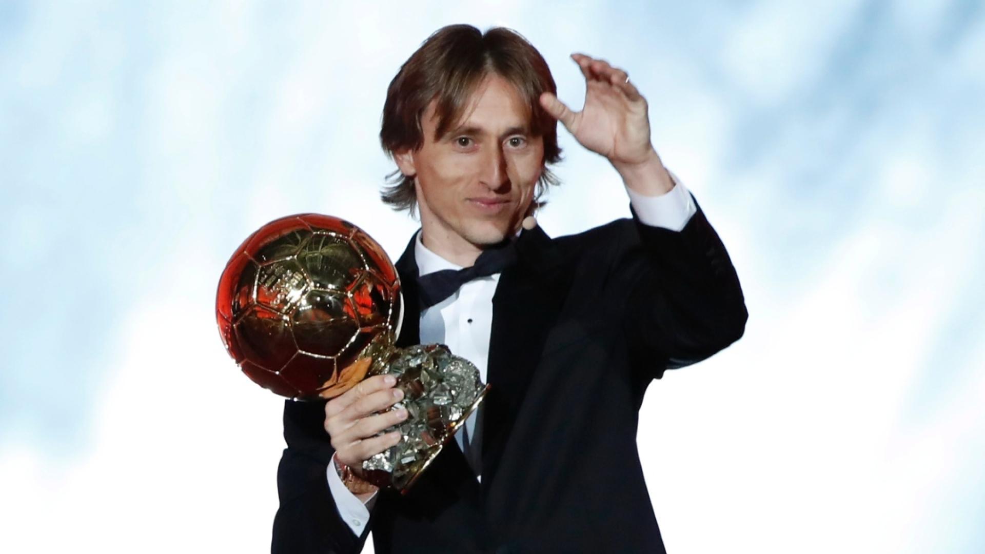 Luka Modric élu Ballon d'or 2018