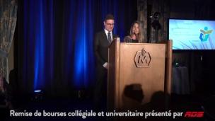Remise de bourses collégiale et universitaire