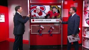 L'adversaire : Sénateurs-Canadiens