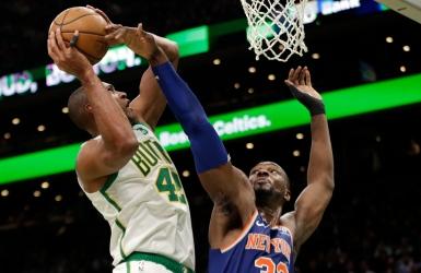 Les Celtics sont fins seuls sur le terrain