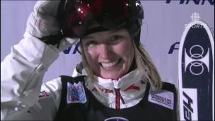 Victoire de Laffont, Justine Dufour-Lapointe 6e