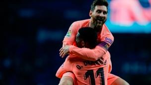 Espanyol 0 - FC Barcelone 4
