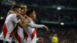 Les joueurs de River Plate célèbrent