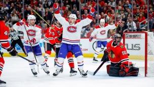 Canadiens 3 - Blackhawks 2