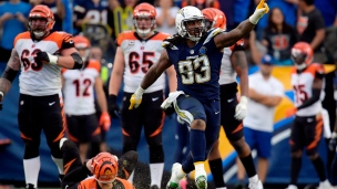 Bengals 21 - Chargers 26