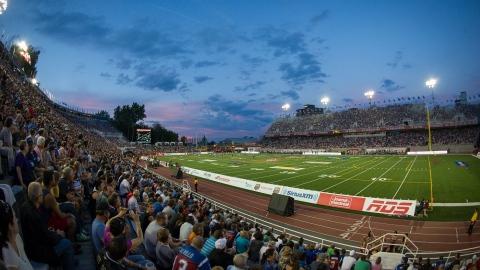 Les Alouettes et le CFM pourront accueillir 15 000 spectateurs