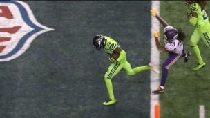 La défense des Seahawks se permet un touché