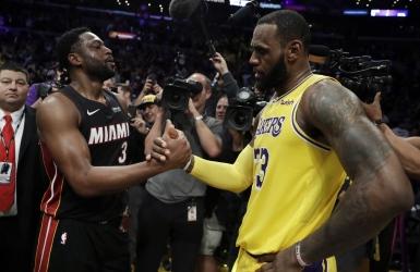 Wade et James, l'amitié avant la rivalité