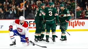 L'histoire du match : Canadiens-Wild