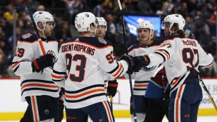 Oilers 6 - Avalanche 4