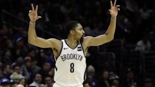 Nets 127 - 76ers 124