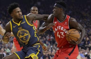 Sans Leonard, Toronto domine les Warriors