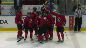 Canada 3 - U Sports 2 (Tirs de barrage)