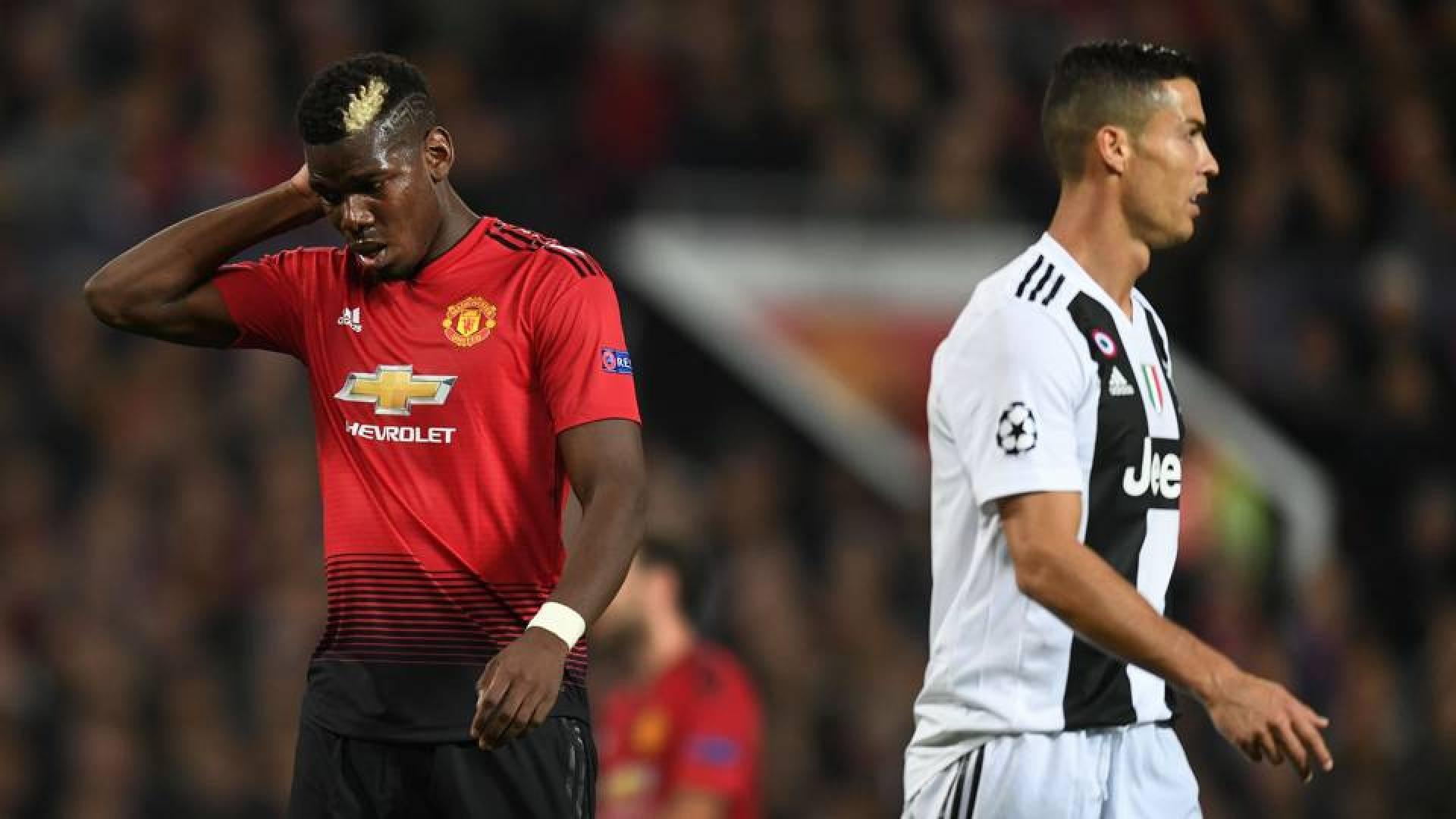 Manchester United, Juventus Turin-Les défaites de la soirée