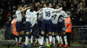 Tottenham 1 - Burnley 0