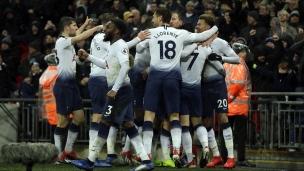 Tottenham 1 - Burnley 0
