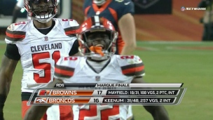 Browns 17 - Broncos 16