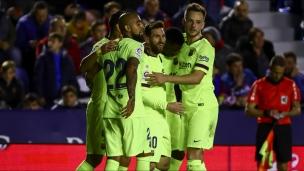 Levante 0 - FC Barcelone 5