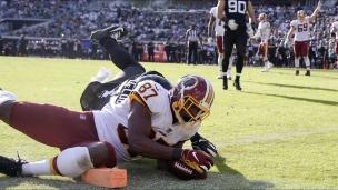 Redskins 16 - Jaguars 13