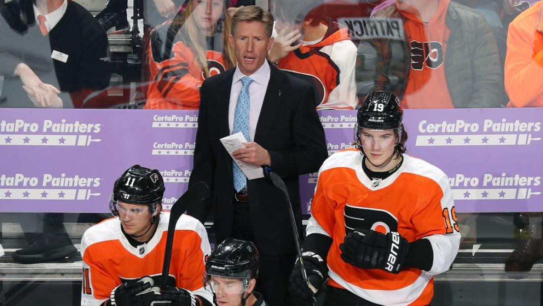 Le calvaire de Dave Hakstol est terminé — Flyers de Philadelphie