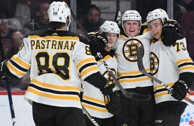 Les Bruins règnent au Centre Bell