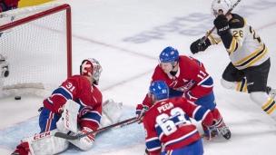 Match à oublier pour le CH face aux Bruins