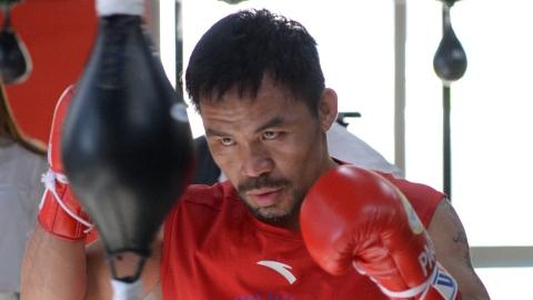 Manny Pacquiao de retour c. Errol Spence