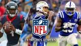 État des forces NFL - 18 décembre