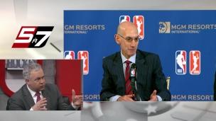 Adam Silver brille dans la commercialisation de la NBA