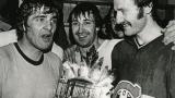 Serge Savard, Guy Lapointe et Larry Robinson (gagnant du trophée Conn Smythe 1978)